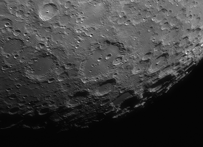 Луна: Клавий и Тихо