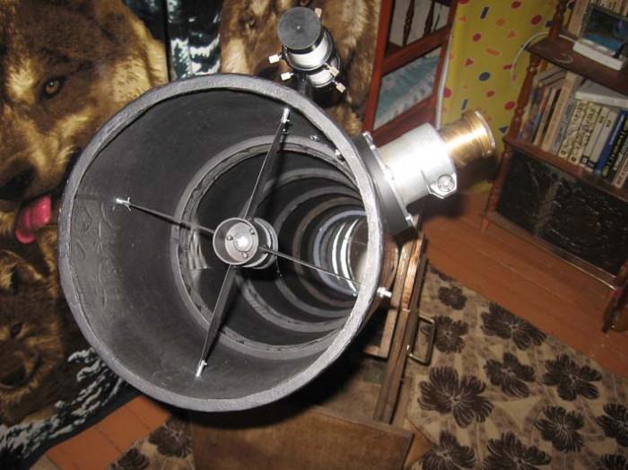 Телескоп изнутри