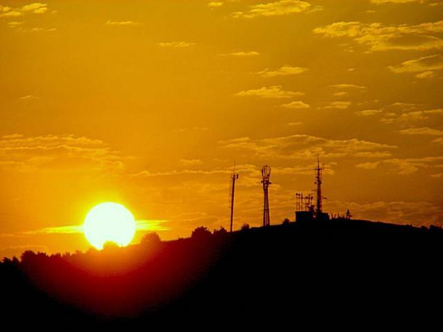 Закат над Сель-Бухрой