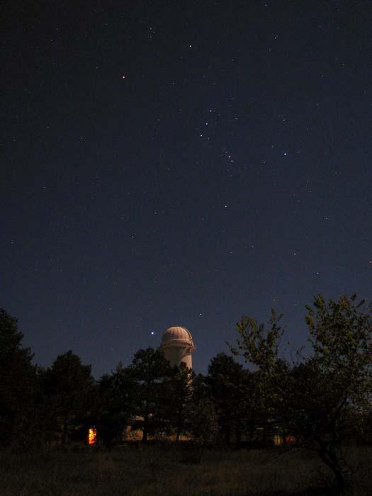 Солнечный телескоп в лунном свете