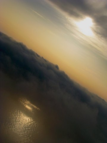 Полет над облаками