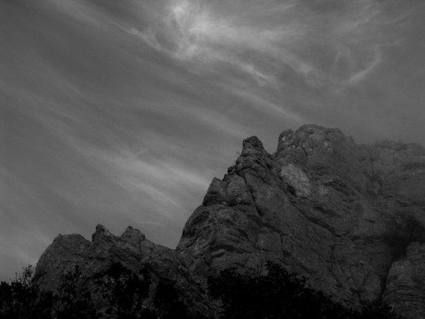 Скалы над Айя