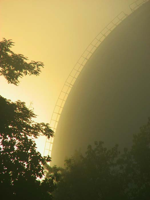 ЗТШ в тумане