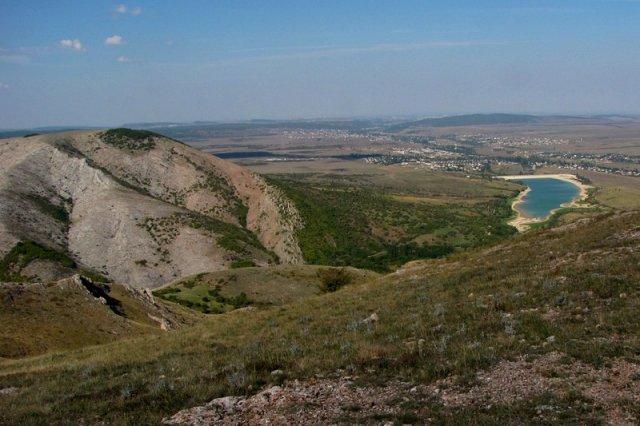 Вид в сторону Симферополя