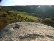 Вид на долину в южном направлении