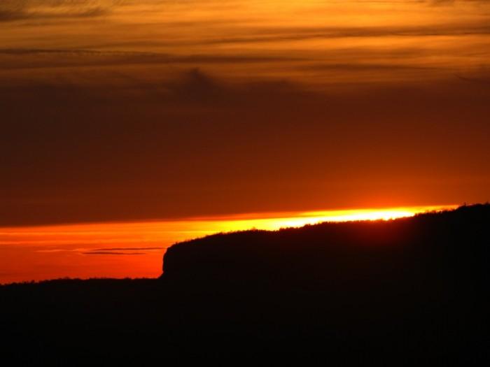 Закат над Беш-Кош