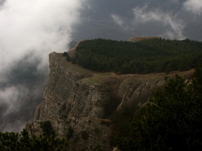 Козырек, вид с юга