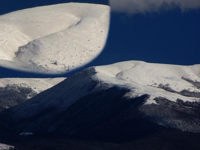 Кемаль-Эгерек, вид из обсерватории