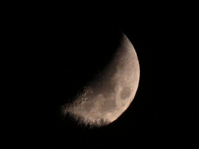 Луна на Караби 25-oct-09