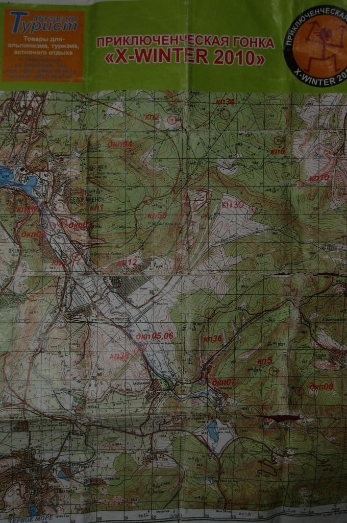 Карта гонки