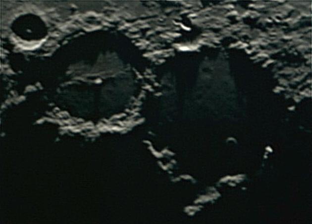 Лунные кратеры Птолемей и Альфонс