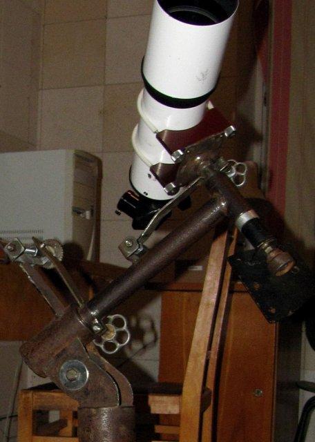 Рефрактор 90мм на малой монтировке-2