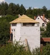 Крыша перед обшивкой