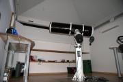 Телескоп запаркован