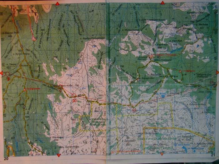 Карта Крымской сотки - 3