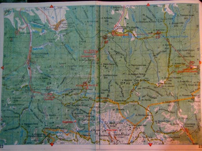 Карта Крымской сотки - 4