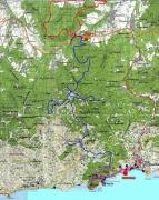 Общая карта нашего маршрута
